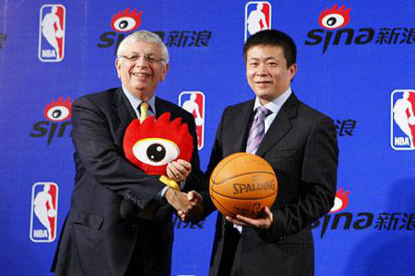 Sina Reached Strategic Partnership With NBA