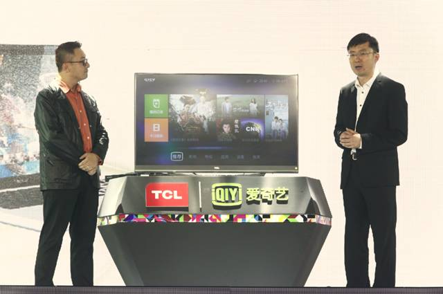 Baidu iQiyi Joined With TCL to Launch TV+