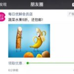 WeChat launched Moments Coupon Ads for retailers